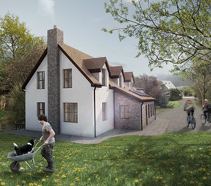 Paddock new build house Evergreen Architects Anglesey North Wales Architect Architecture