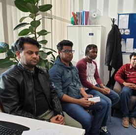 Meeting with Bangladeshi Students of UoB