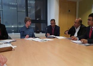 Meeting with Prof Fiona Nunan