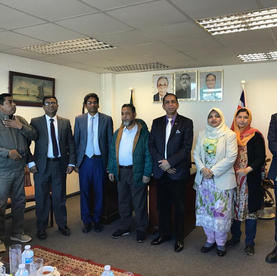 Meeting with Cabinet Secretary Mr Mohammad Shafiul Alam