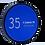 Thumbnail: LASER ENGRAVED 95mm O.D. CUSTOM LENS CAP