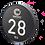 Thumbnail: LASER ENGRAVED 80mm O.D. Signature Series Aluminum Cap