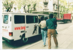 2004 argentine tour van