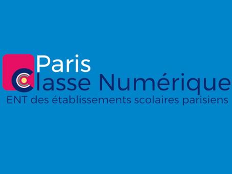 Tutoriel Paris Classe Numérique