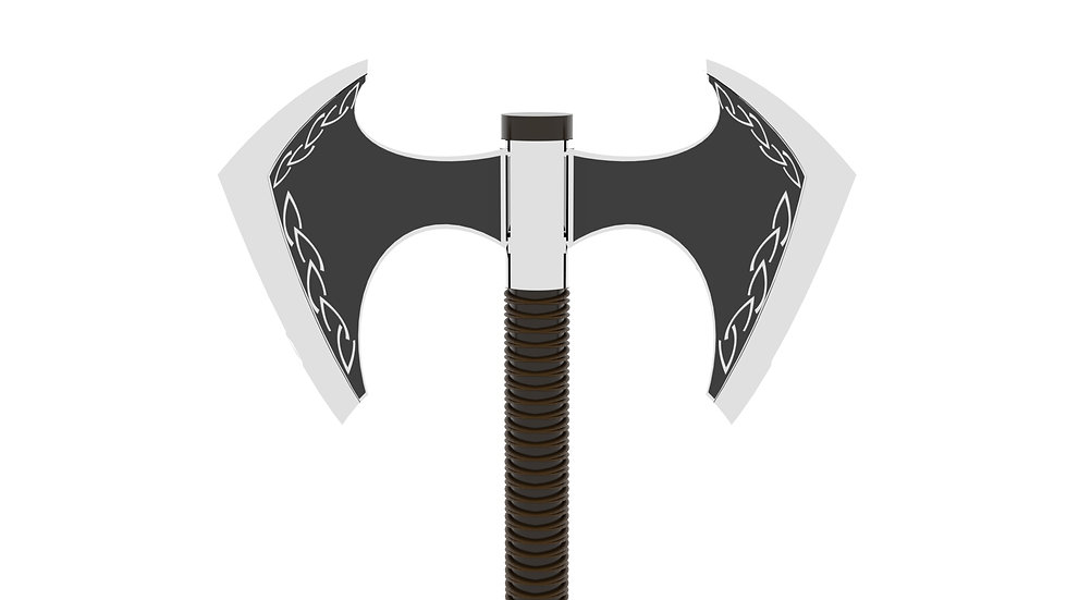 Viking Throwing Axe Picture Close Up Fro