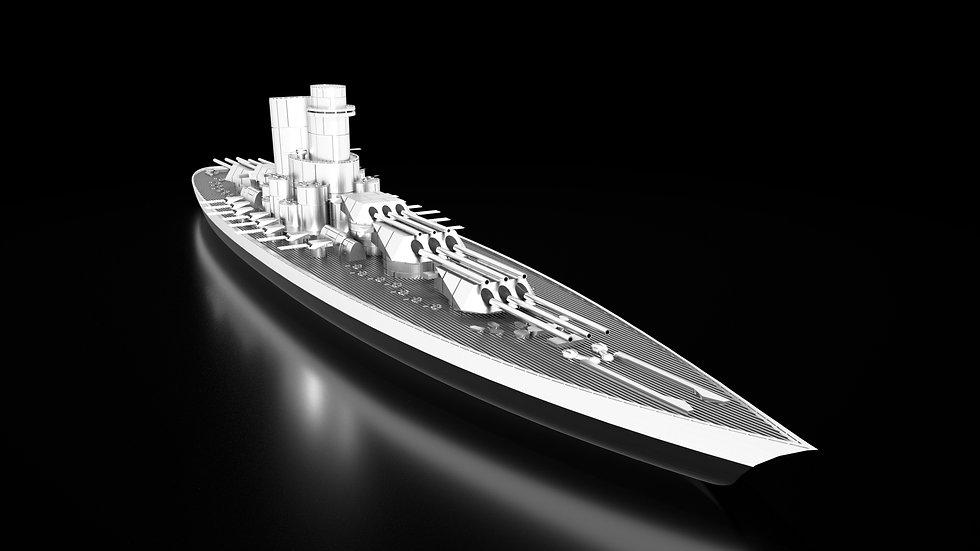 SSS Immortalem Battleship Praetorian Guard