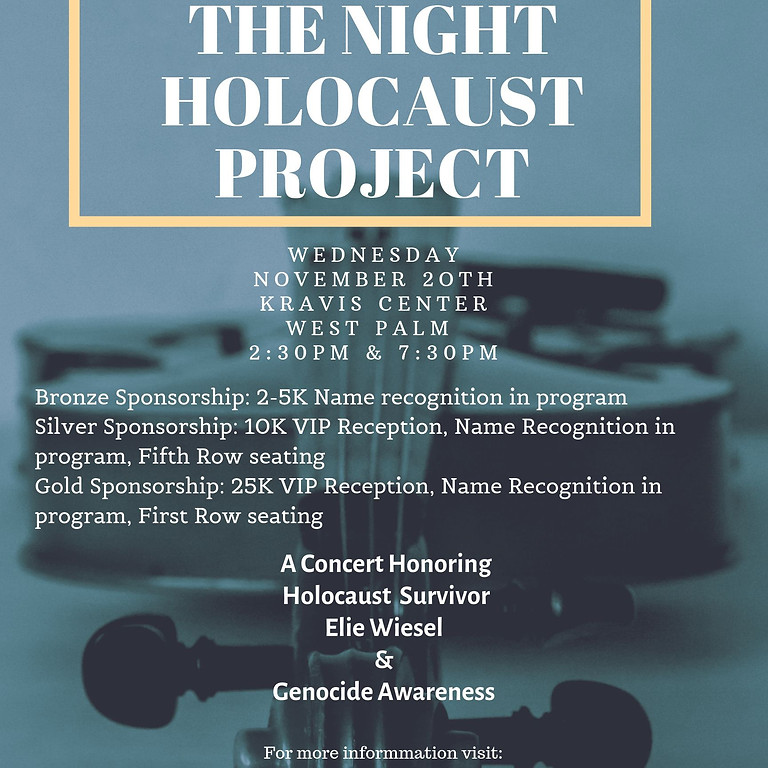 The Night Holocaust Project