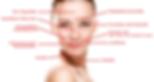 Anwendungsbereiche für Botox. Nasolabialfalte, Glabellafalte, Zornesfalte, Krähenfüße, Lachfältchen