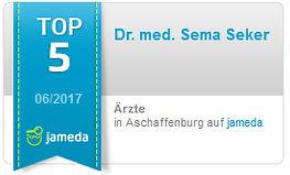 Empfehlung und Bewertung: Dr. Sema Seker: Ausgezeichnet von Jameda