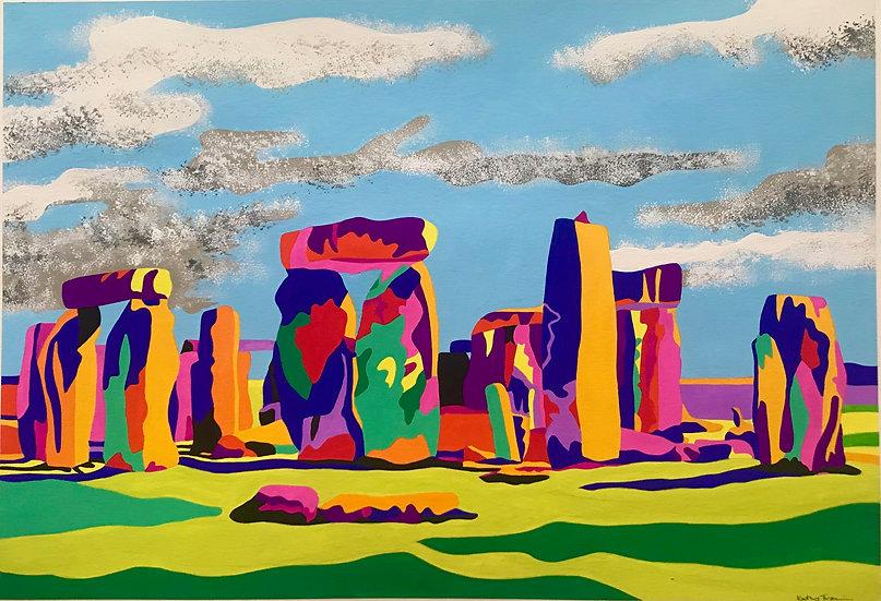 Stonehenge 440mm W x 318mm H
