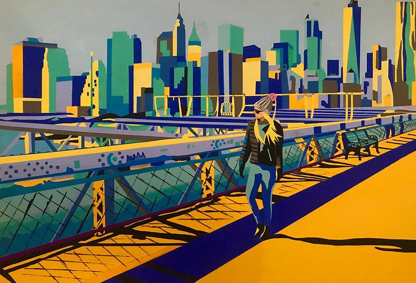 Brooklyn Bridge 410mm W x 305mm H