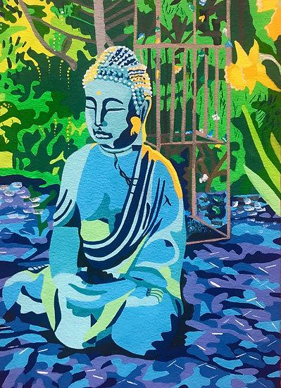 The Buddha 240mm W x 310mm H