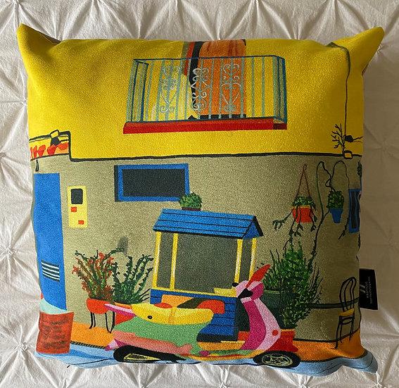 Spanish Street Cushion 45cm x 45cm