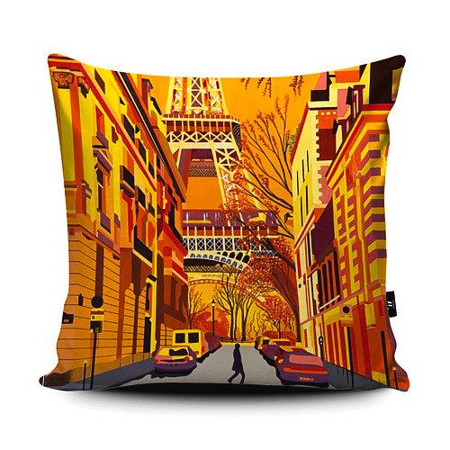 Paris Street Cushion 45cm x 45cm