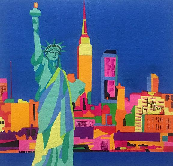 New York 245mm x 240mm