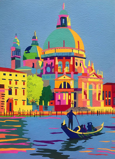 Venice 323mm H x 247mm W