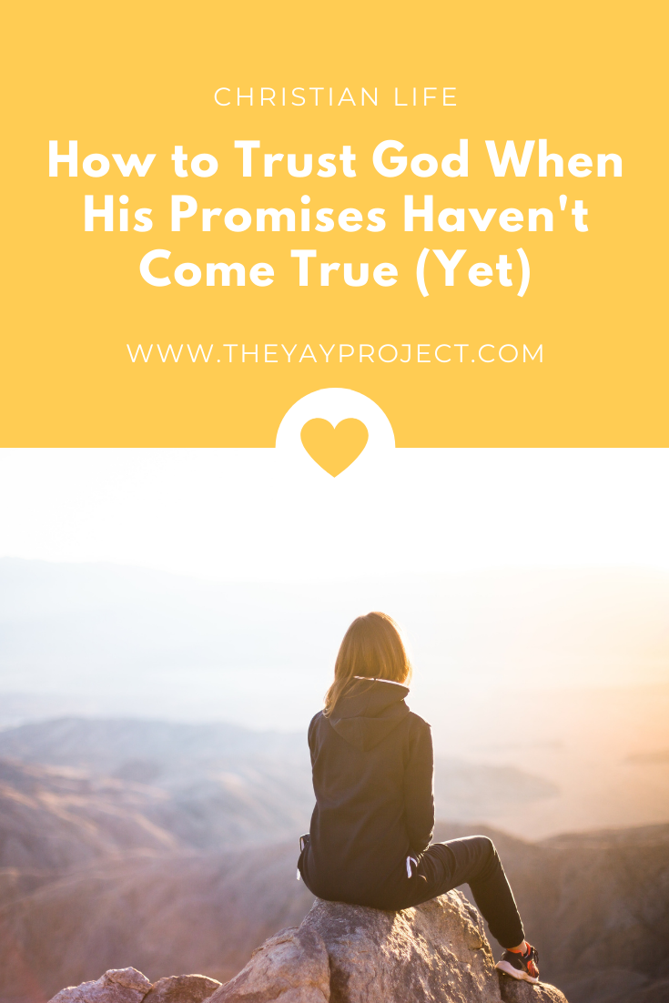 Christian blog about how to trust God by Jenni Lien of The Yay Project