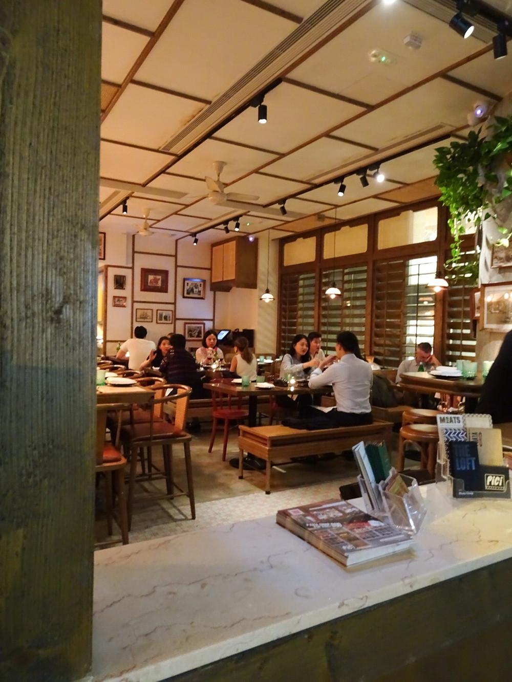 Madame Ching restaurant in Hong Kong