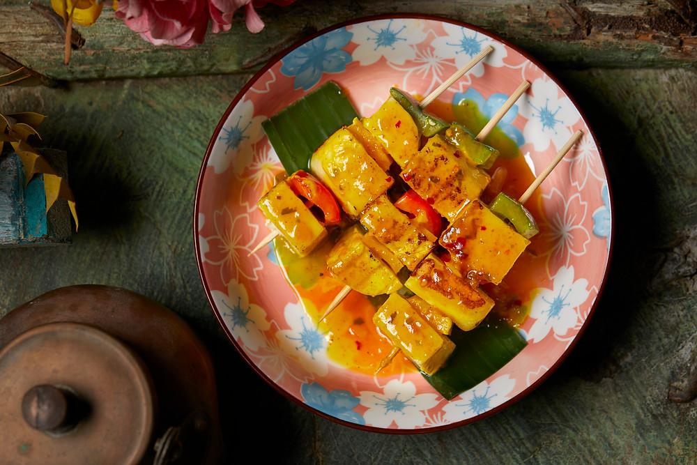 Food at Chaiwala Indian restaurant in Hong Kong