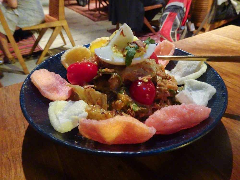 Food at Kaum Indonesian restaurant by Potato Head in Hong Kong