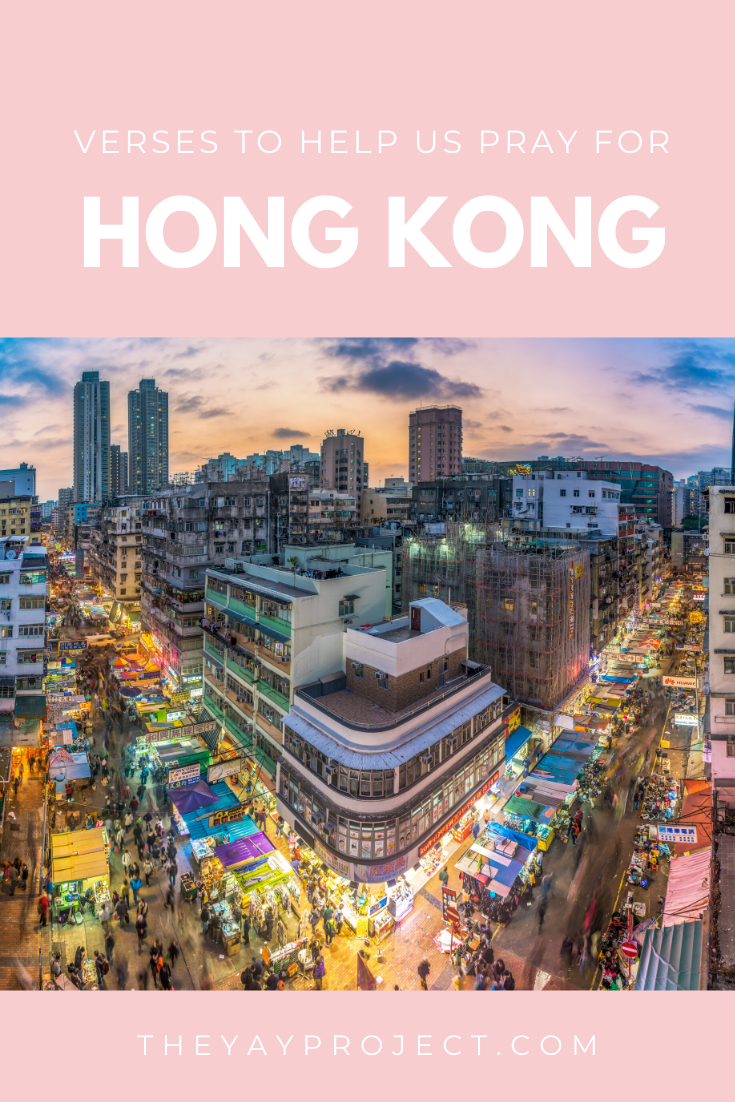 Christian blog about prayer for Hong Kong