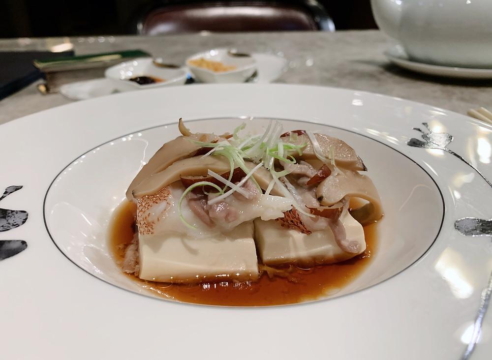 Garoupa at Ying Jee Club Restaurant