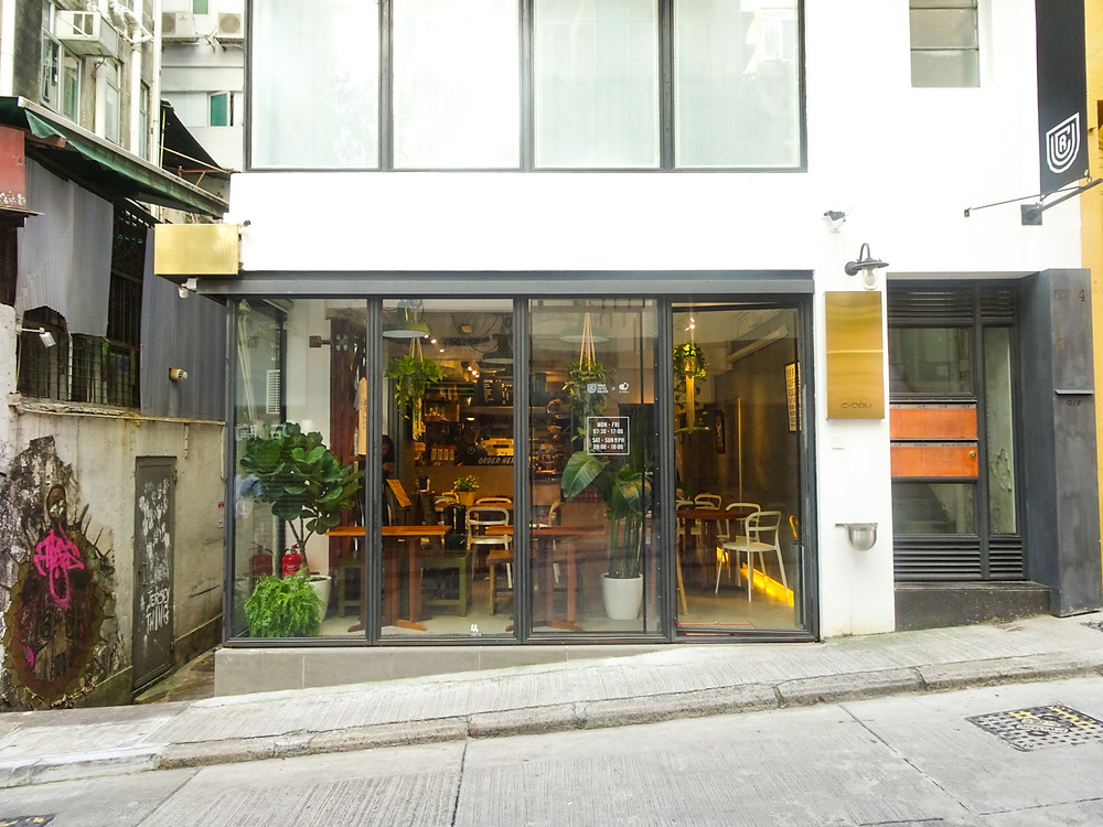 Urban Coffee Roaster cafe in Hong Kong