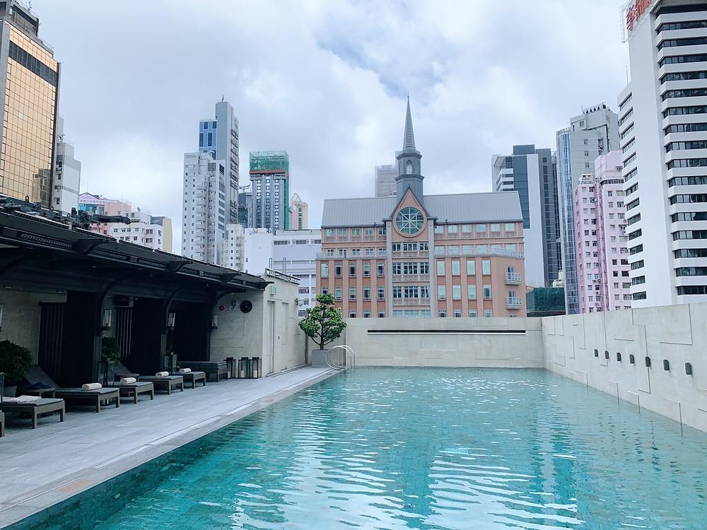 Pool at St Regis HK Hong Kong
