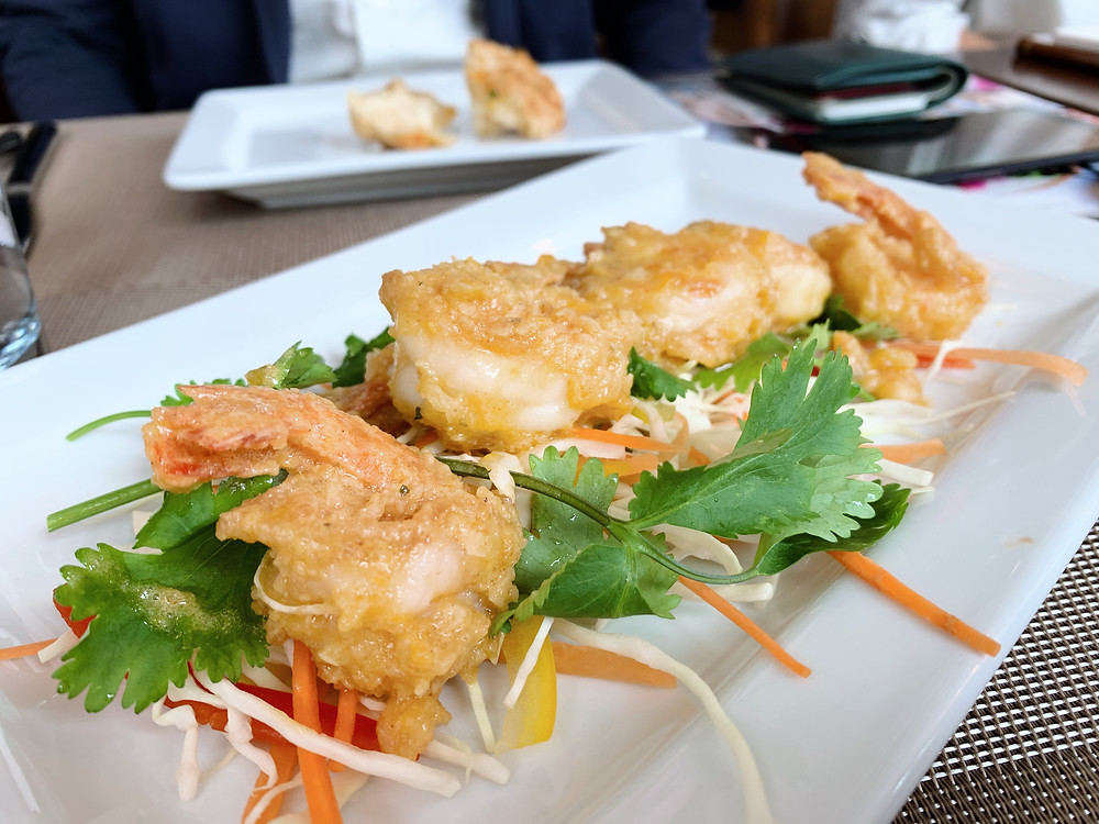 Shrimp at Red Lobster restaurant in Causeway Bay Hong Kong