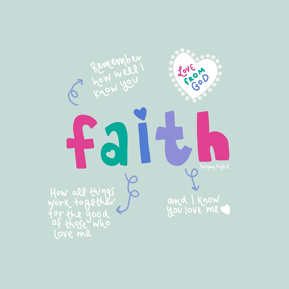The Yay Project Christian Faith Graphic by Jenni Lien