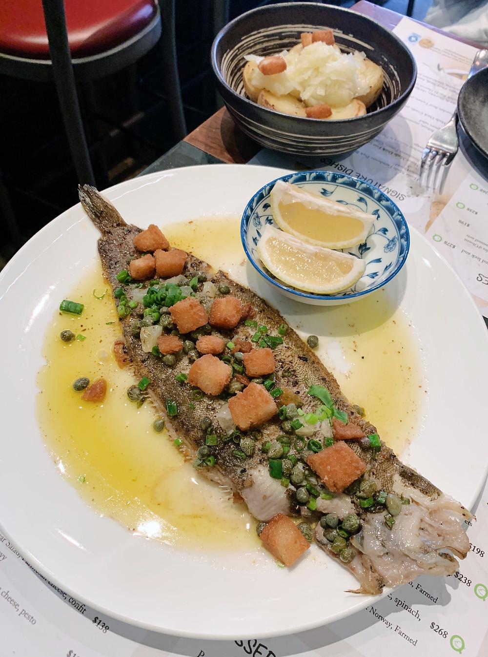 AOC restaurant in Hong Kong