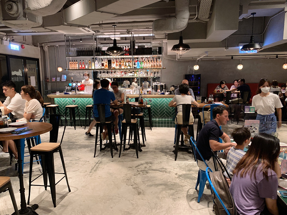 Cafe Boheme at Alto Residences in Tseung Kwan O (TKO)
