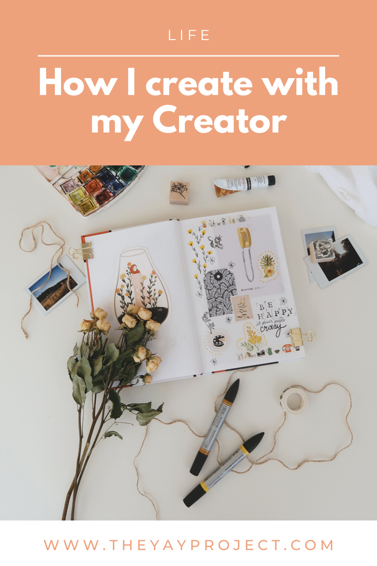 Christian blog on how to create with God by Jenni Lien of The Yay Project