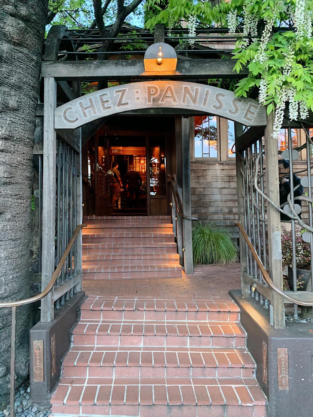 Chez Panisse restaurant in Berkeley, California