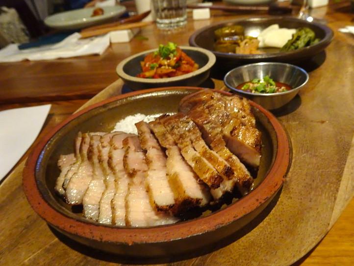 Momojein Korean restaurant in Hong Kong