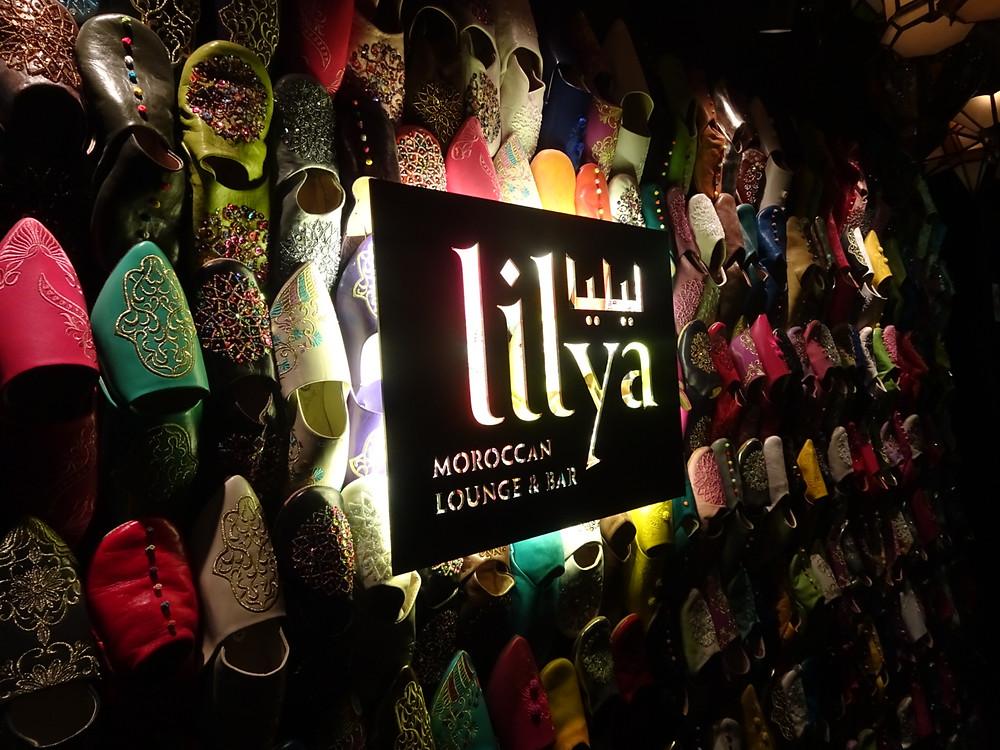 Lilya Moroccan bar in Central Hong Kong
