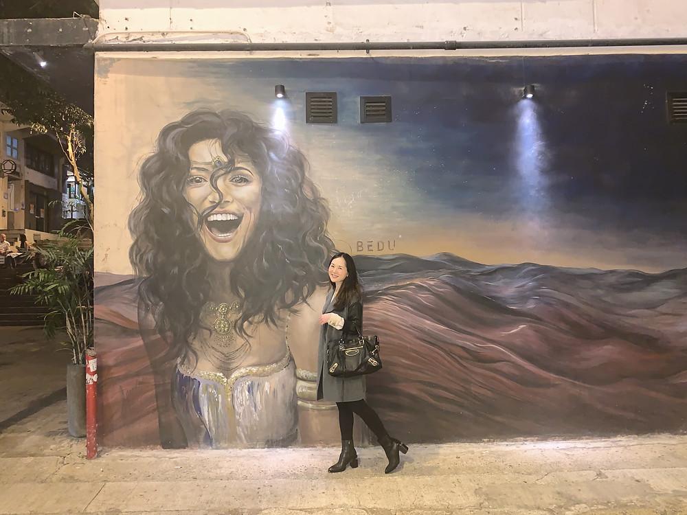 Jenni Lien at Bedu in Hong Kong