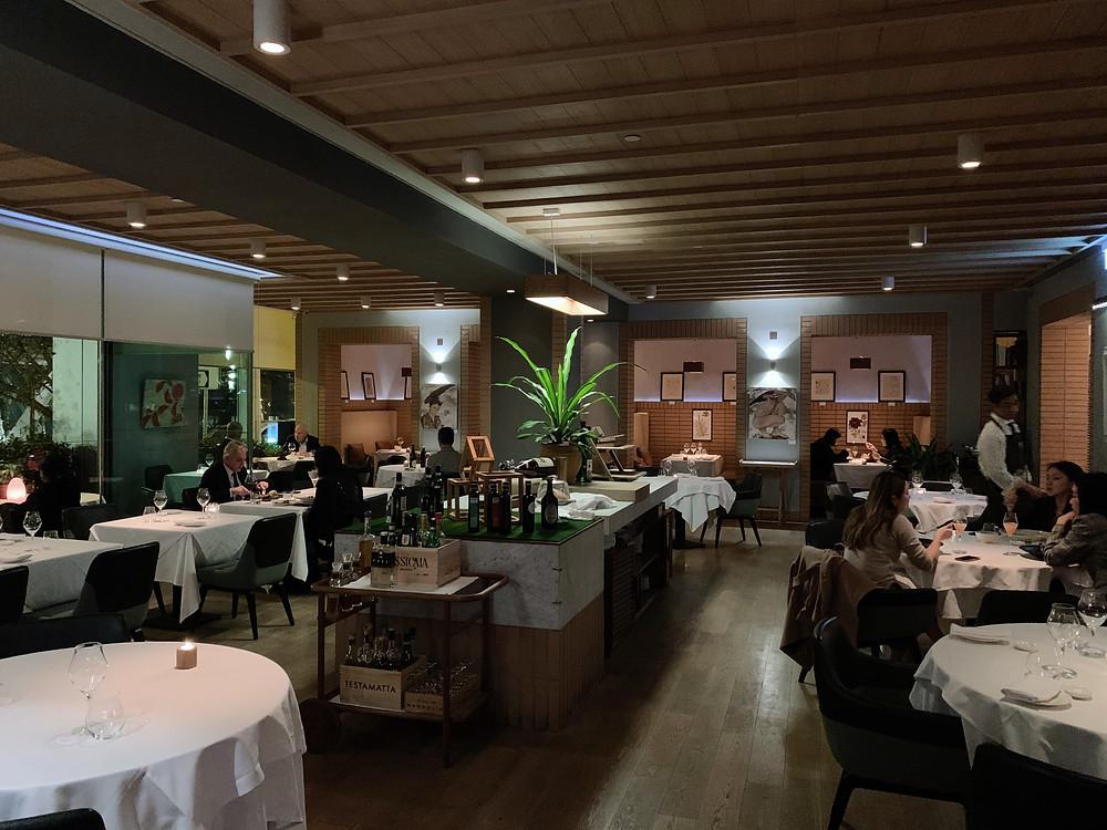 Giando Italian restaurant in Hong Kong