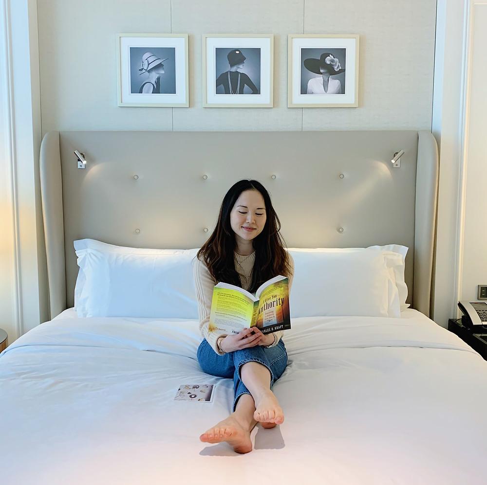 Jenni Lien at The Langham Hotel Hong Kong