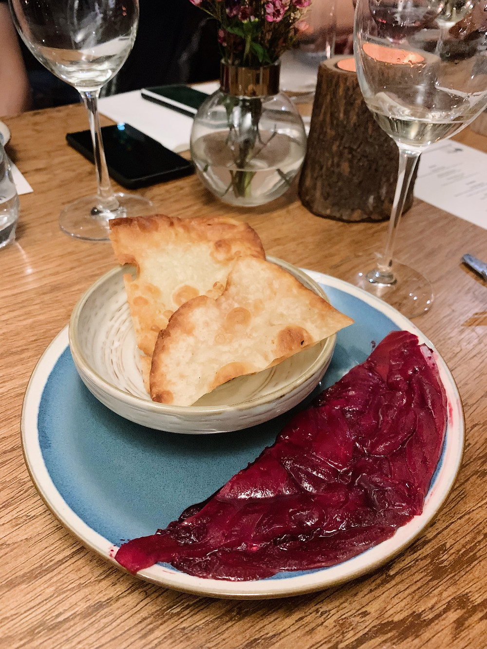 Cure Singapore restaurant pop up at Test Kitchen in Hong Kong