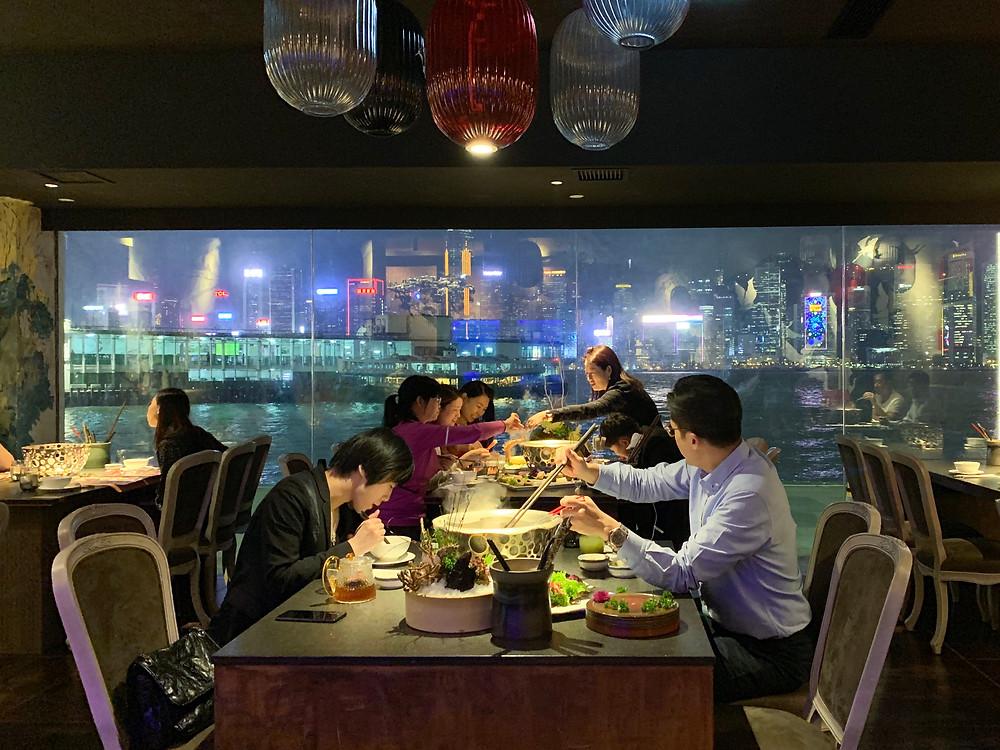 Quan Alley hot pot restaurant in Hong Kong