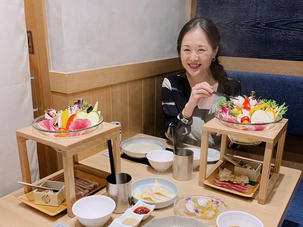 Jenni Lien food blogger at Bijin Nabe Restaurant