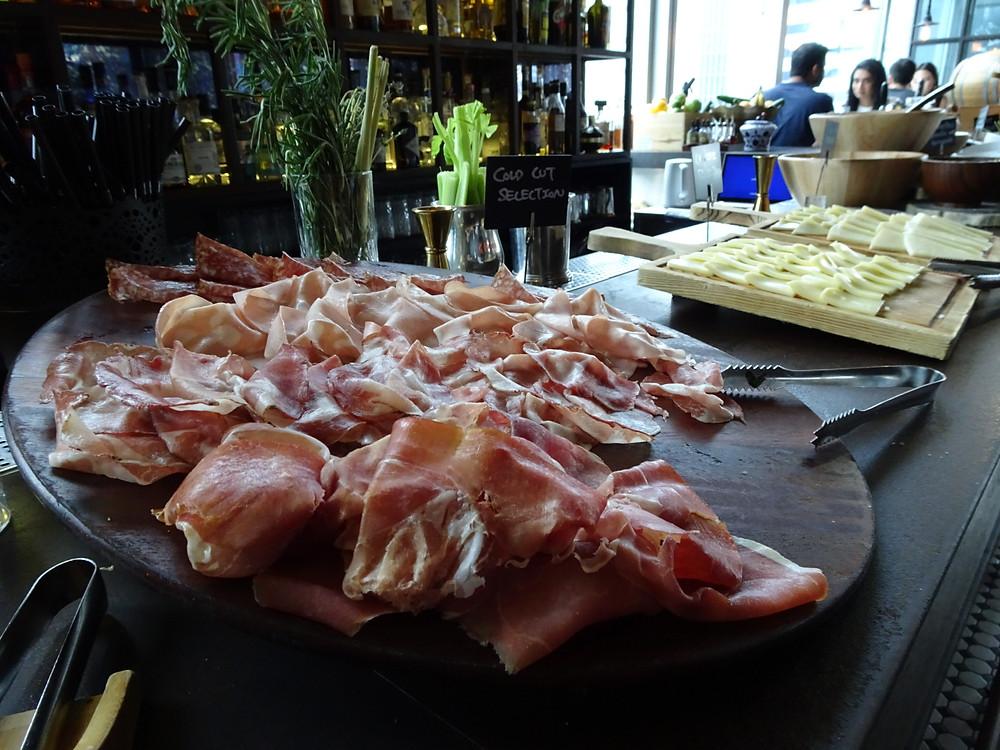 Brunch at Pirata Italian restaurant in Hong Kong