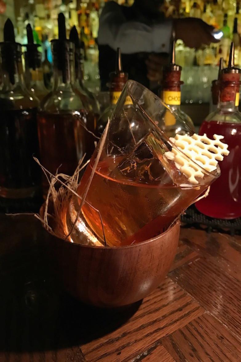 Cocktails at Stockton bar in Hong Kong