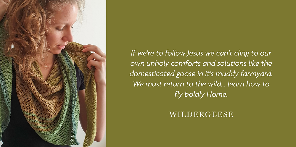 Cassandra Hooimeyer Founder of Wildergeese Christian Greeting Cards