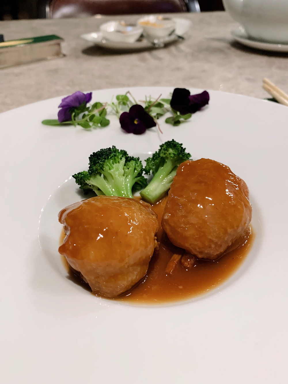 Boneless chicken wings at Ying Jee Club Restaurant