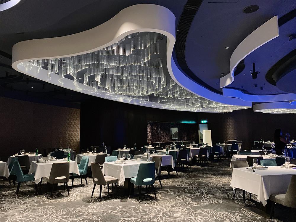 Neptune's Restaurant at Ocean Park in Hong Kong