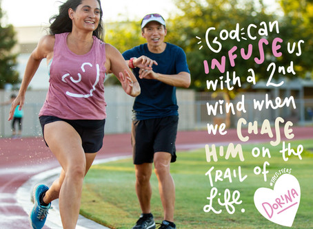 Yay Sisters | Dorina, author of Walk, Run, Soar (a new running devo!) based in California