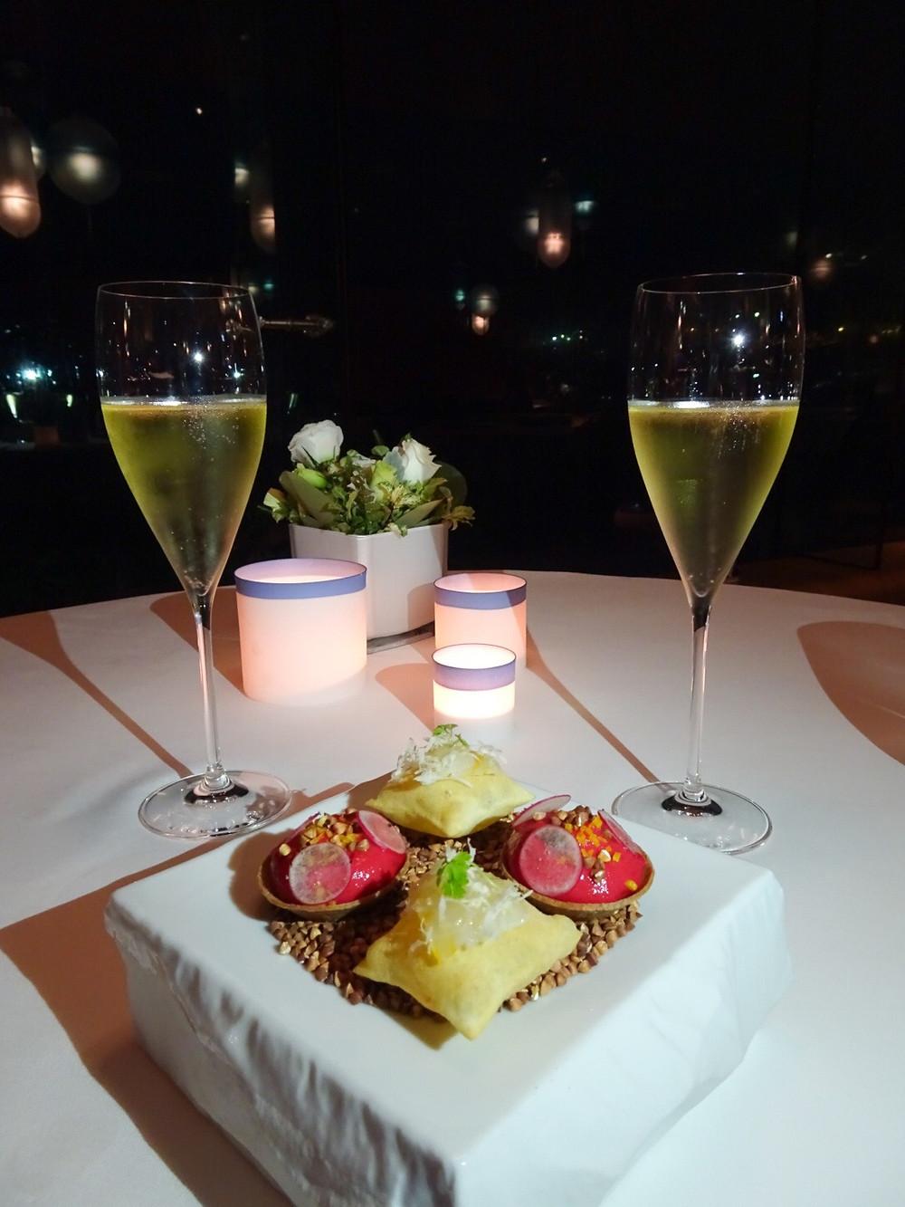 Food at The Ocean by Olivier Bellin restaurant in Hong Kong