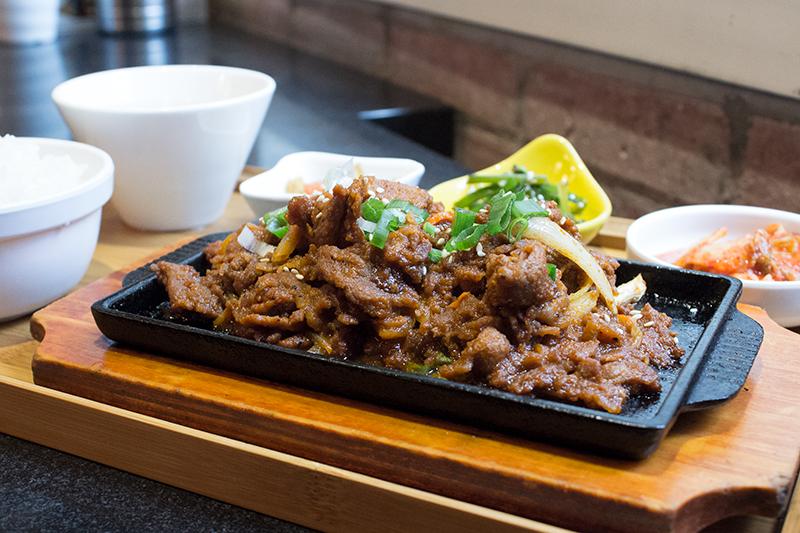 GaGaHoHo Korean restaurant in TST Hong Kong